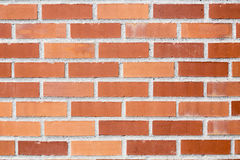 Red and orange bricks Stock Photography