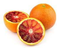 Red orange closeup Stock Photography