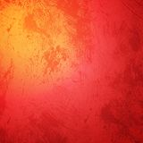 Red orange grunge Merry Christmas background Stock Image