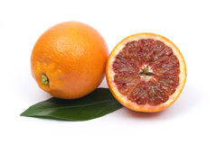 Red orange and a half Stock Image