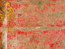 Red and Orange Rusted Metal Background Stock Photos