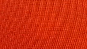 Red or orange Texture / Close up red or orange fabric surface Royalty Free Stock Photography