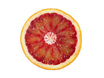 Red orange. On a white background Royalty Free Stock Images