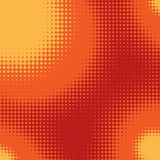Red, Orange and Yellow Pop Art Background. Stock Images