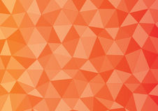 Red orange yellow triangle. Colourful colour shade light triangle background graphic wallpaper mosaic art shape deep red orange yellow polygon Royalty Free Stock Photography