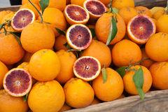 Red oranges Royalty Free Stock Photo