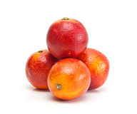 Red oranges. Royalty Free Stock Photography
