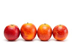 Red oranges. Stock Images