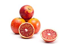 Red oranges. Stock Photography