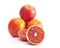 Red oranges. Royalty Free Stock Photos