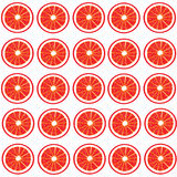 Red oranges pattern Stock Photo