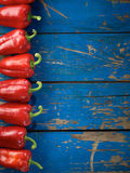 Red organic pepper Royalty Free Stock Images