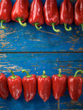 Red organic pepper Royalty Free Stock Photo