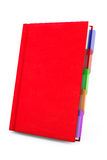 Red Organizer Notebook Stock Photos