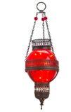 Red oriental lamp Stock Photo