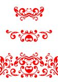 Red ornament Royalty Free Stock Photos