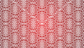 Red Ornament Background Stock Images