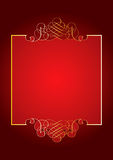 Red ornament background Stock Photos