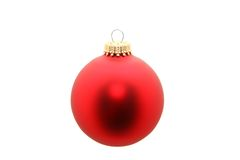 Free Red Ornament Isolated Stock Image - 11982711