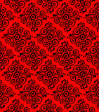 Red ornamental pattern, background or texture Royalty Free Stock Image