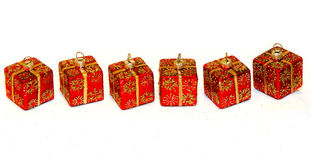 Red ornaments Royalty Free Stock Photo