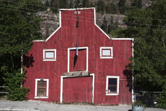 Red Ouray Livery Barn, Ouray, Colorado, USA Stock Images