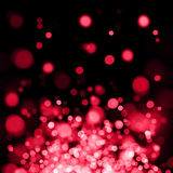 Red out of focus spotlights Stock Image