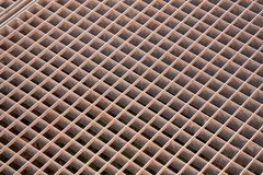 Red oxidada del metal imágenes de archivo libres de regalías