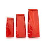 Red packages Stock Photo