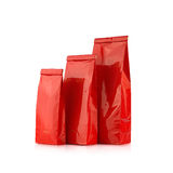 Red packages Stock Photos