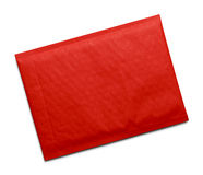 Red Padded Envelope Stock Photography