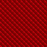 Red Padden Upholstery Pattern Royalty Free Stock Photography