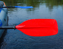 Red paddle Royalty Free Stock Photo