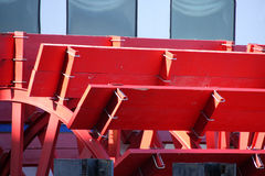 Red Paddlewheel Stock Photos