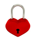 Red padlock Royalty Free Stock Images