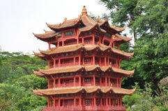 Red Pagoda Stock Images