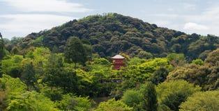 Red Pagoda in Kizyomizu Stock Images
