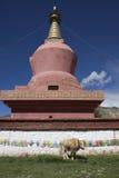 Red pagoda Stock Image