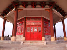 Red pagoda Royalty Free Stock Images