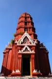 Red Pagoda in Wat Phra Kaeo Royalty Free Stock Photo