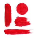 Red paint royalty free stock image