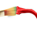 Red paint Stock Image
