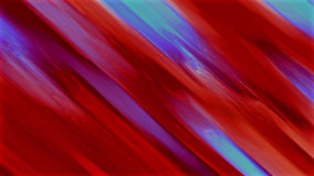 Red Paint Abstract Colourful Exposure Effect Stock Image