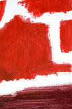 Red Paint Background Stock Photography