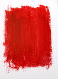 Red Paint Background. Great for Use as a Texture Royalty Free Stock Photos
