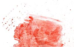 Red Paint Background Stock Image