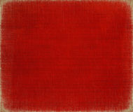 Red paint on canvas for christmas Stock Photo