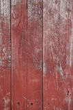 Red paint on old wooden wall Royalty Free Stock Images