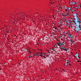 Red paint texture Royalty Free Stock Image