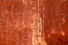 Red paint texture on wall grunge Royalty Free Stock Photos